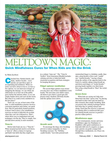 Page 43 of MELTDOWN MAGIC: Quick Mindfulness Cures for When Kids are On the Brink