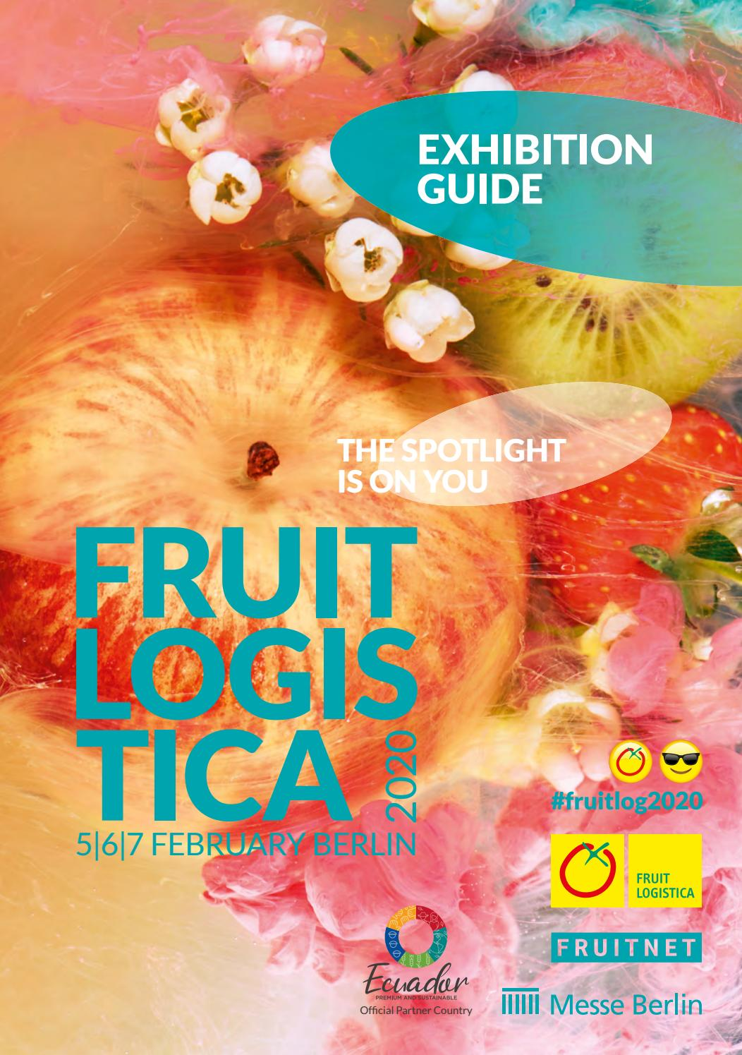 Exhibition Guide Fruit Logistica 2020 By Fruchthandel Magazin Issuu