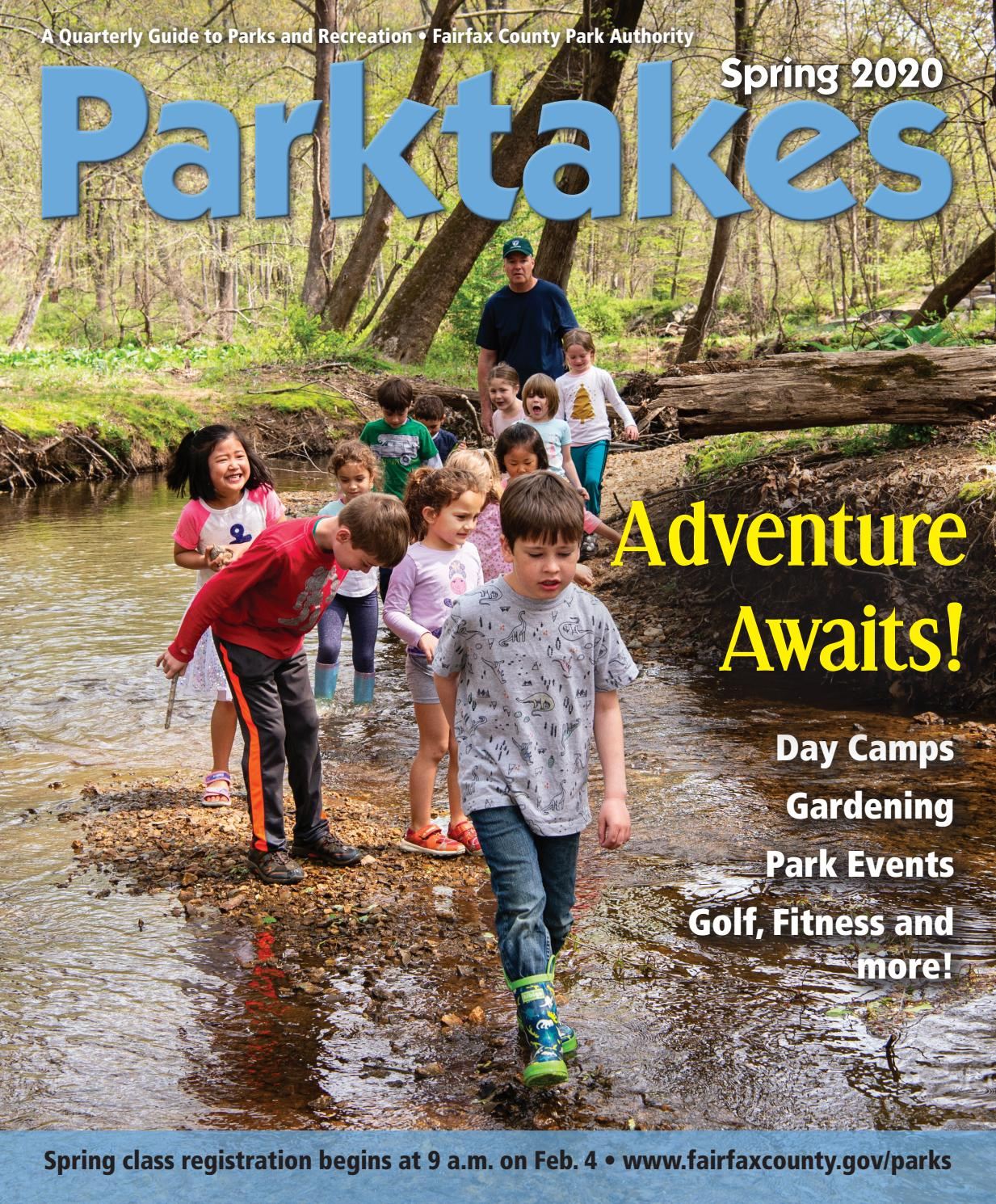 Spring Parktakes 2020 By Fairfax County Park Authority Issuu