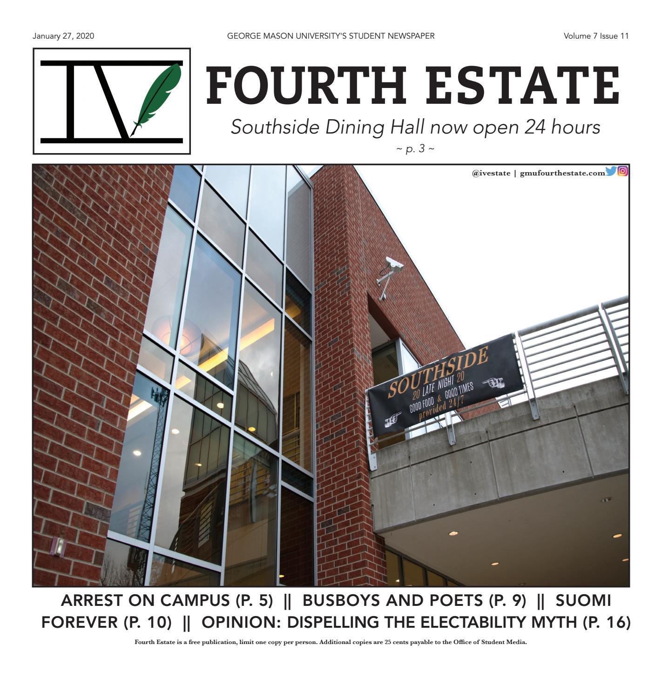 1 27 20 Fourth Estate By Student Media George Mason University Issuu