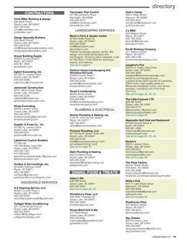 Page 49 of Green Lake Chamber Member Directory