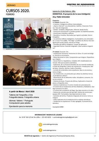 Page 2 of Cursos de VERANO 2020