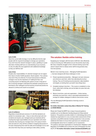 Page 51 of HEALTH + SAFETY update