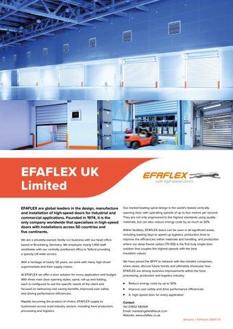 Page 55 of EFAFLEX UK Limited