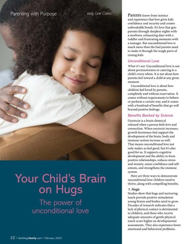 Page 22 of Your Child's Brain on Hugs The power of unconditional love