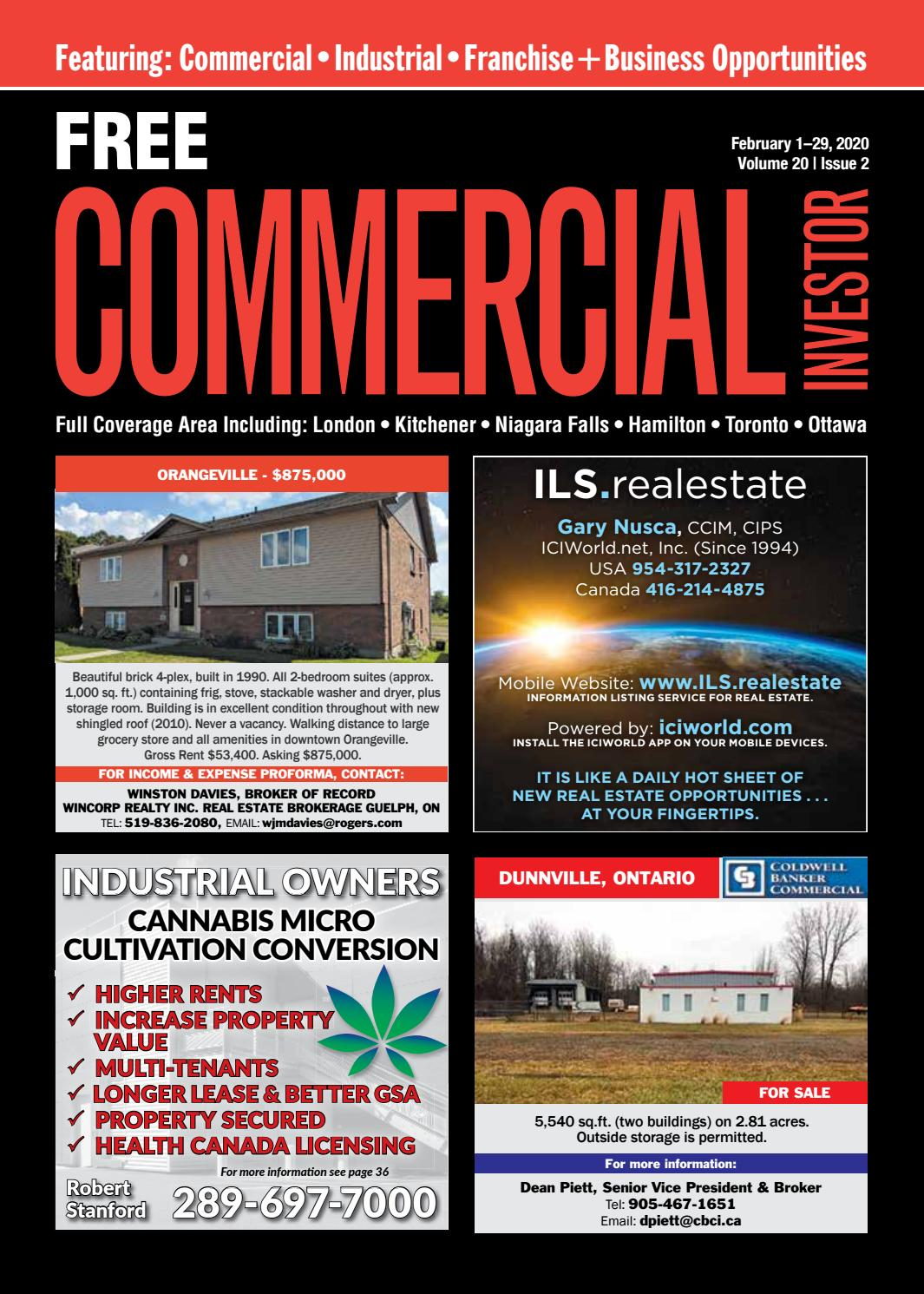 Commercial Investor February 1 2020 By Nexthome Issuu