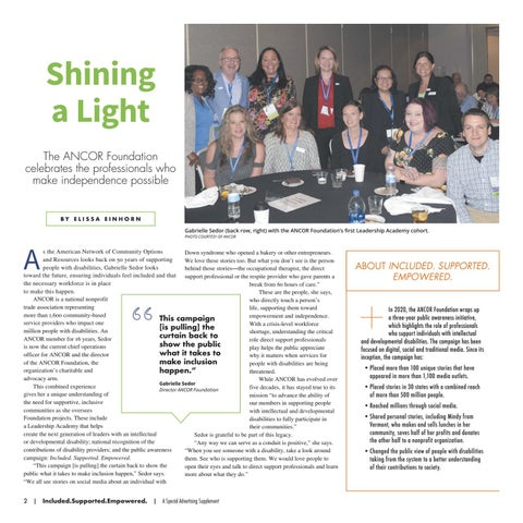 Page 2 of Shining a Light