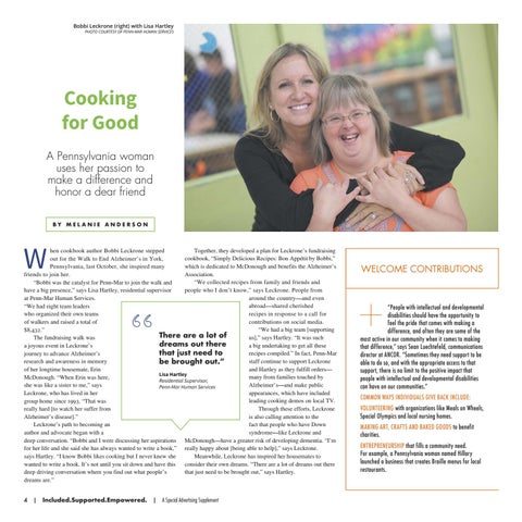 Page 4 of Cooking for Good