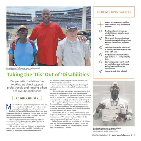 Page 5 of Taking the 'Dis' Out of 'Disabilities'