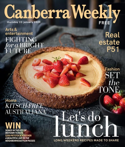 23 January 2020 by Canberra Weekly Magazine issuu