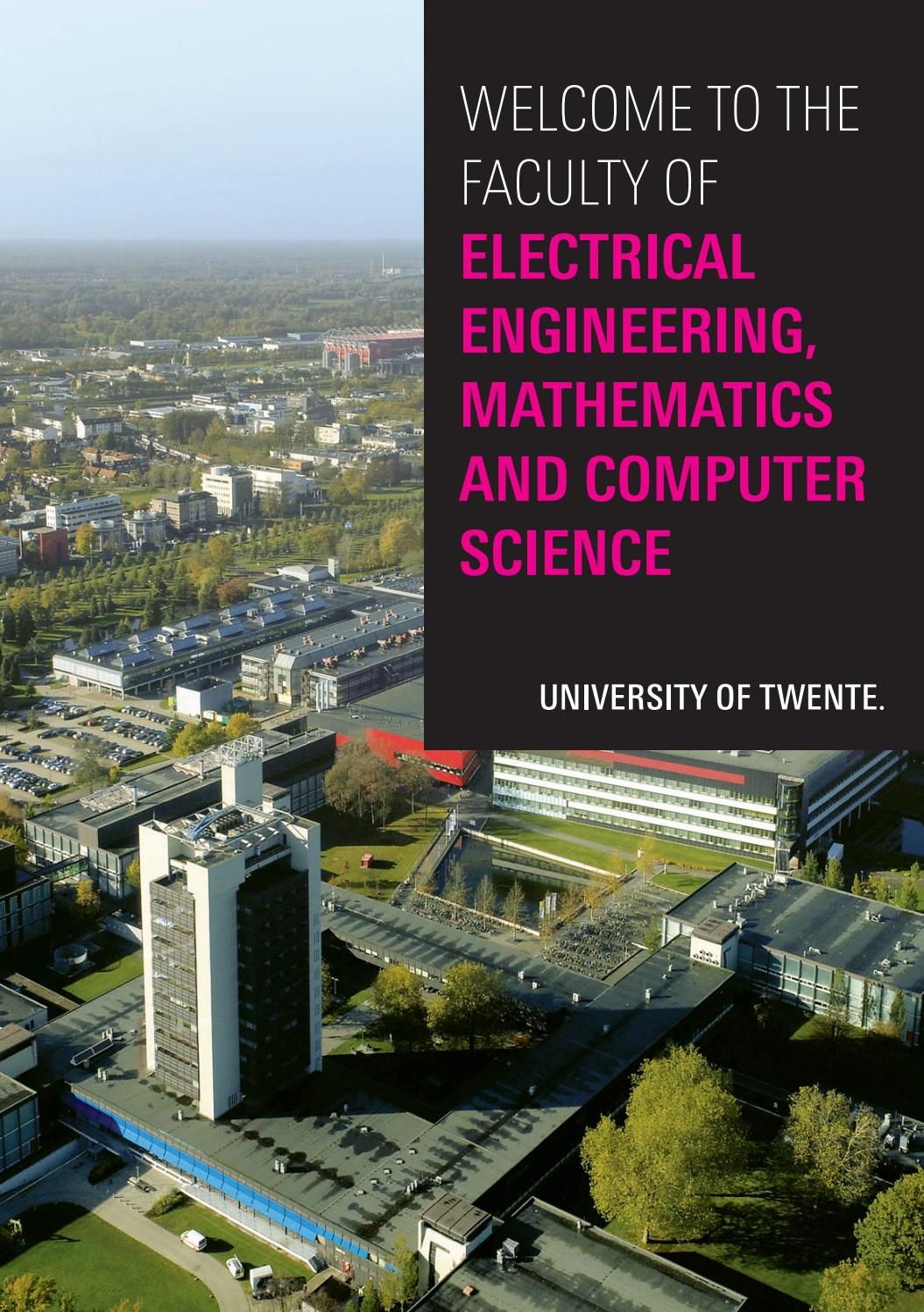 Welcome To The Faculty Of Eemcs By University Of Twente Issuu