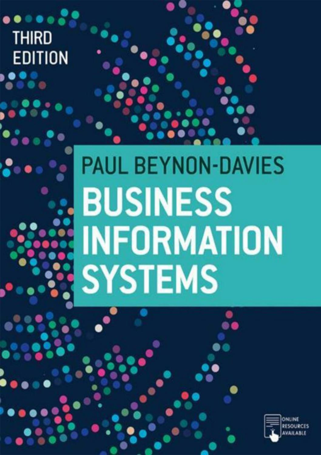 Sample Chapter Business Information Systems By Macmillan International Higher Education Issuu