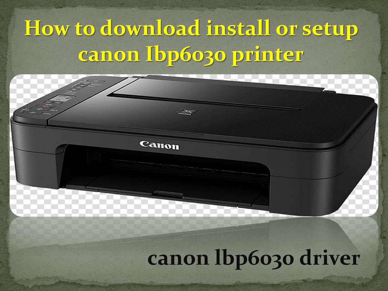 F166400 driver download canon Windows 10