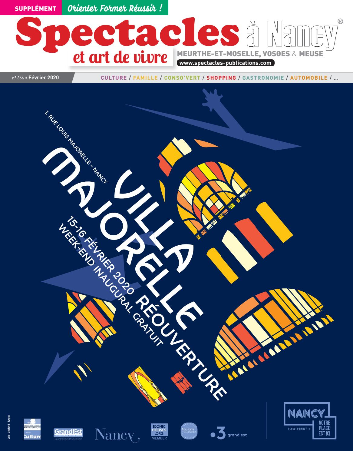Spectacles Publications Nancy n°40 / Février 40 by SPECTACLES ...