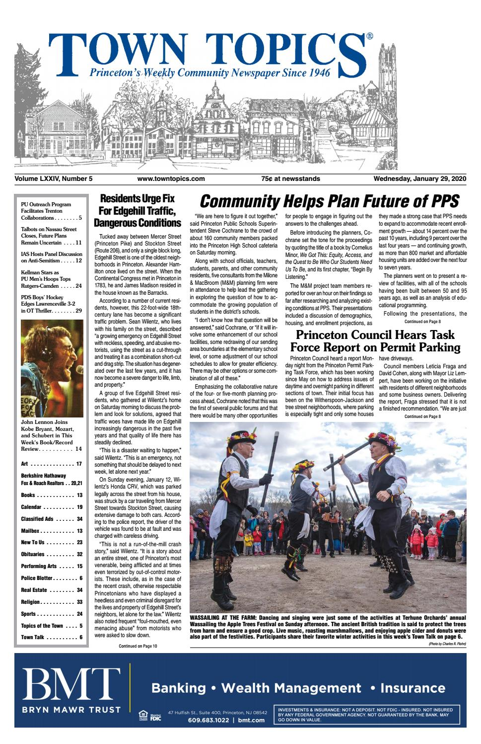 Town Topics Newspaper, January 29 by Witherspoon Media Group