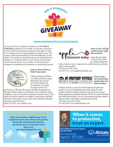 Page 31 of Win It Wednesday Giveaway