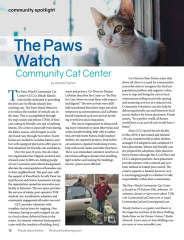 Page 18 of THE PAWS WATCH