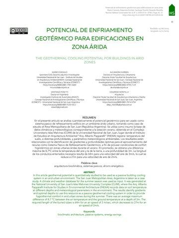 Page 45 of POTENCIAL DE ENFRIAMIENTO GEOTÉRMICO PARA EDIFICACIONES EN ZONA ÁRIDA