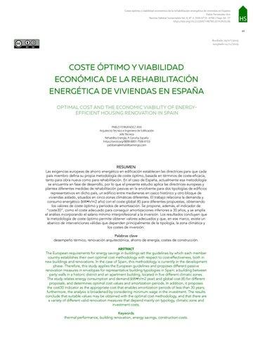 Page 67 of COSTE ÓPTIMO Y VIABILIDAD ECONÓMICA DE LA REHABILITACIÓN ENERGÉTICA DE VIVIENDAS EN ESPAÑA