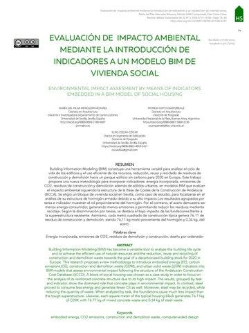 Page 81 of EVALUACIÓN DE IMPACTO AMBIENTAL MEDIANTE LA INTRODUCCIÓN DE INDICADORES A UN MODELO BIM DE VIVIENDA SOCIAL