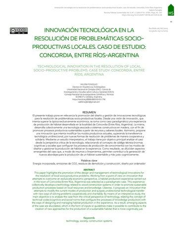 Page 97 of INNOVACIÓN TECNOLÓGICA EN LA RESOLUCIÓN DE PROBLEMÁTICAS SOCIOPRODUCTIVAS LOCALES. CASO DE ESTUDIO: CONCORDIA, ENTRE RÍOSARGENTINA