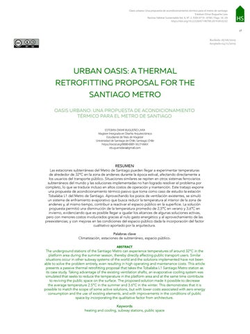 Page 19 of URBAN OASIS: A THERMAL RETROFITTING PROPOSAL FOR THE SANTIAGO METRO