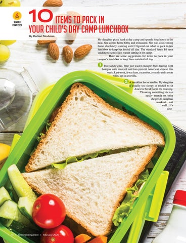 Page 14 of 10 Items to Pack in Your Child's Day Camp Lunchbox