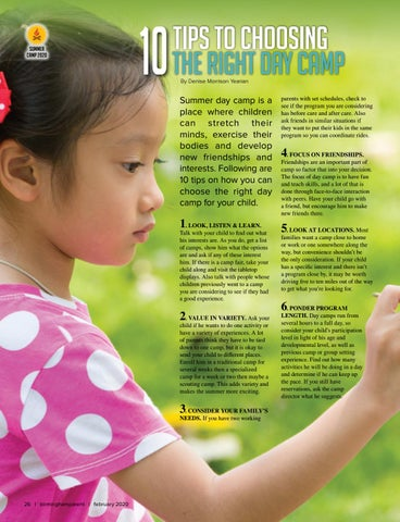Page 26 of Tips to Choosing the Right Day Camp