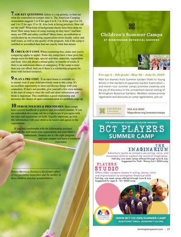Page 27 of Tips to Choosing the Right Day Camp