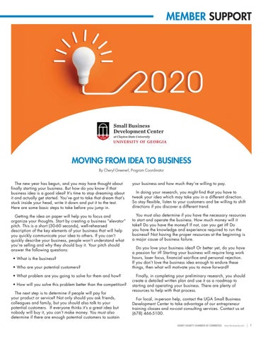 Page 7 of Moving from Idea to Business