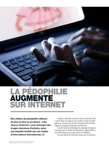 Page 18 of International LA PÉDOPHILIE AUGMENTE