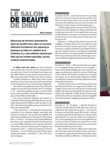 Page 22 of Femme LE SALON DE BEAUTÉ DE DIEU