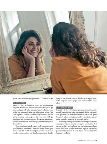 Page 23 of Femme LE SALON DE BEAUTÉ DE DIEU