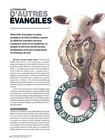 Page 26 of Littérature D'AUTRES ÉVANGILES. Pablo