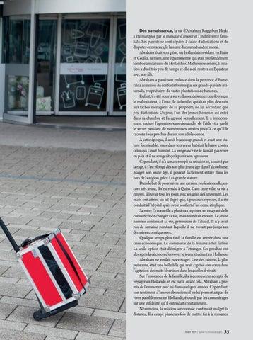 Page 35 of Biographies LE DERNIER VOL D'ABRAHAM. Il