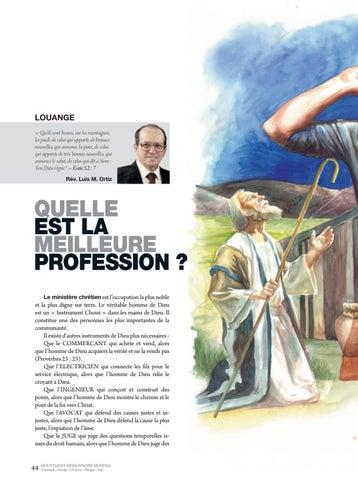 Page 44 of Dévotionnel QUELLE EST LA MEILLEURE