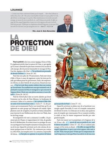 Page 46 of Dévotionnel LA PROTECTION DE DIEU