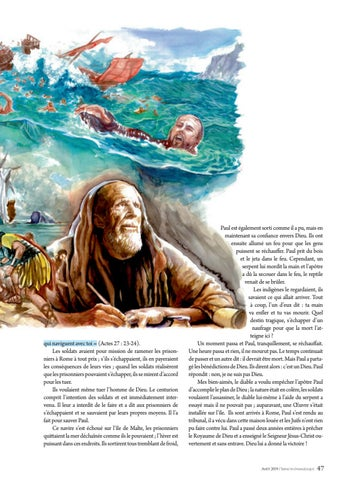 Page 47 of Dévotionnel LA PROTECTION DE DIEU