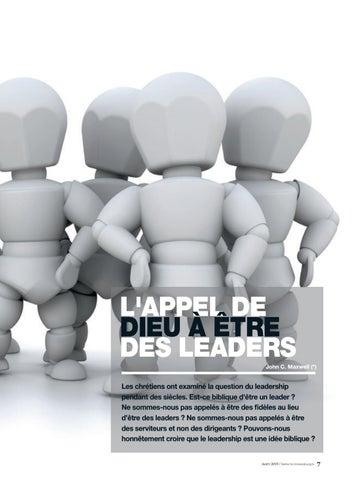 Page 7 of Couverture L'APPEL DE DIEU À ÊTRE DES