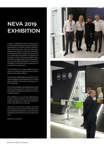 Page 6 of NEVA 2019 exhibition