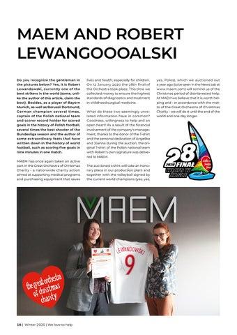 Page 18 of MAEM AND ROBERT LEWANGOOOALSKI