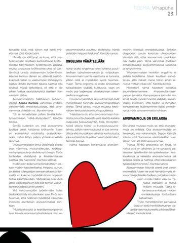 Page 23 of Joskus hiljaisuus edistää vihapuhetta