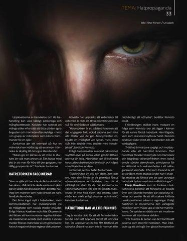 Page 33 of Förolämpningar, mordhot och skymfningar – går det att förstå hatretorik?