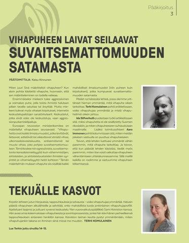 Page 3 of Pääkirjoitus