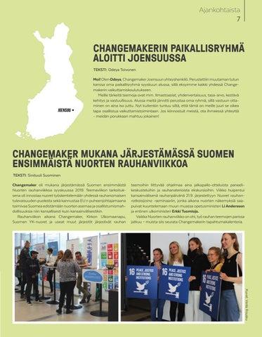 Page 7 of Changemakerin kuulumisia