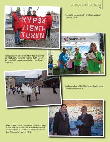 Page 9 of Changemaker 15 vuotta