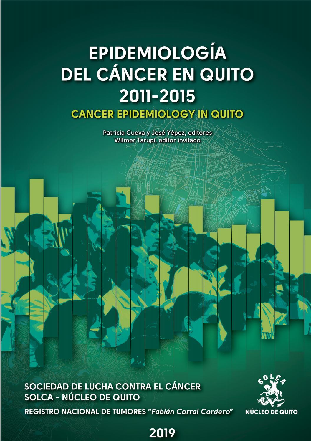 cual es el cancer mas frecuente en ecuador