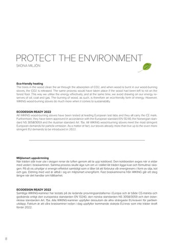Page 8 of Protect the environment Skona miljön