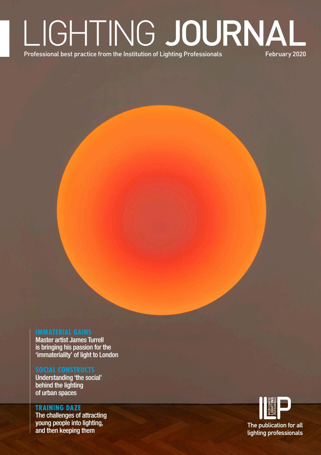 Lighting Journal – February 2020