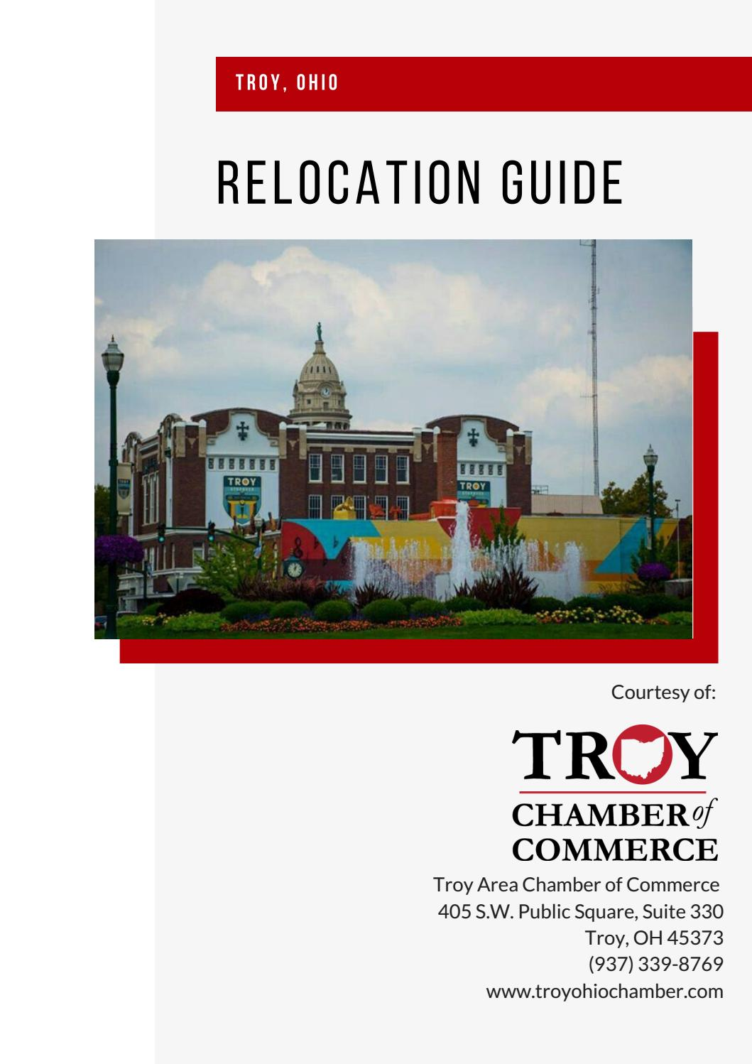 Troy Ohio Relocation Guide By Troyohiochamber Issuu